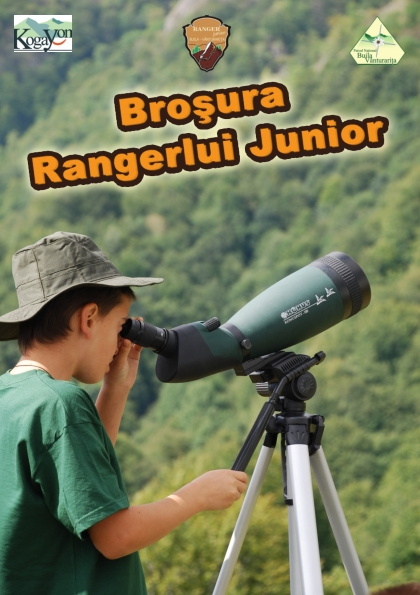 Cover of Broșura Rangerului Junior